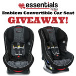 Britax Emblem Convertible Car Seat Giveaway
