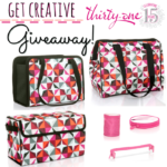GET CREATIVE Giveaway for Thirty-One Gifts!