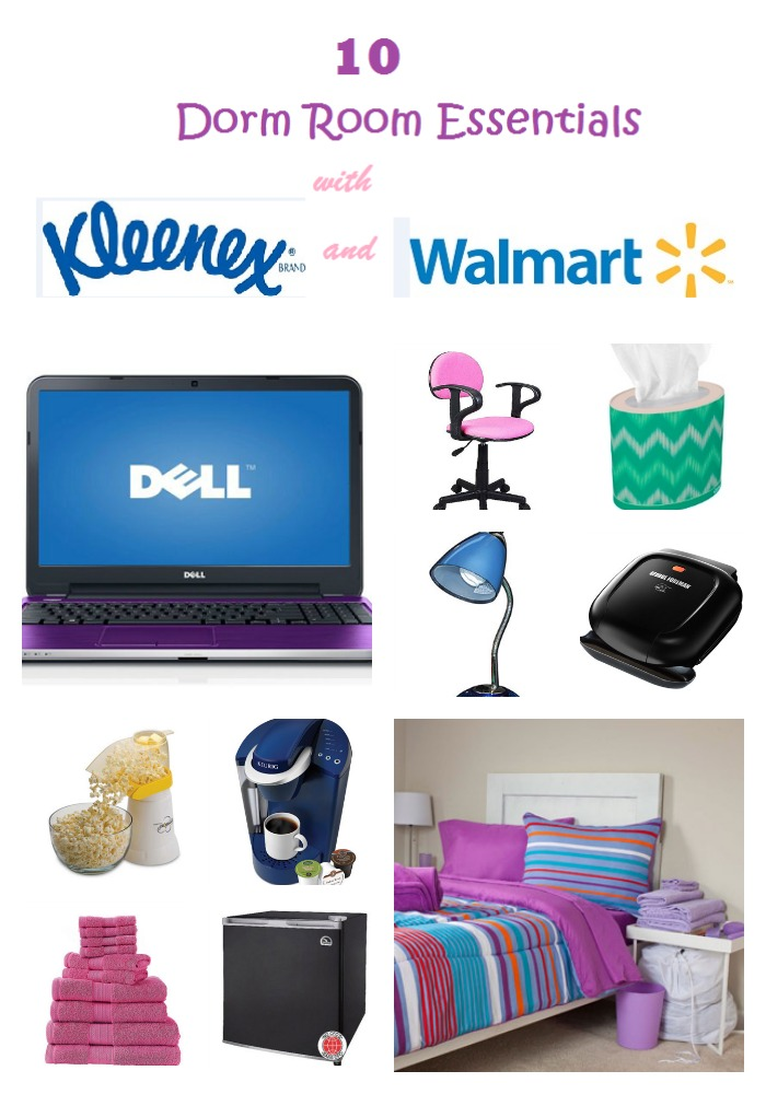 Kleenex Design Adds Style to Your Dorm Room ~ 161737_Dorm Room Ideas Walmart