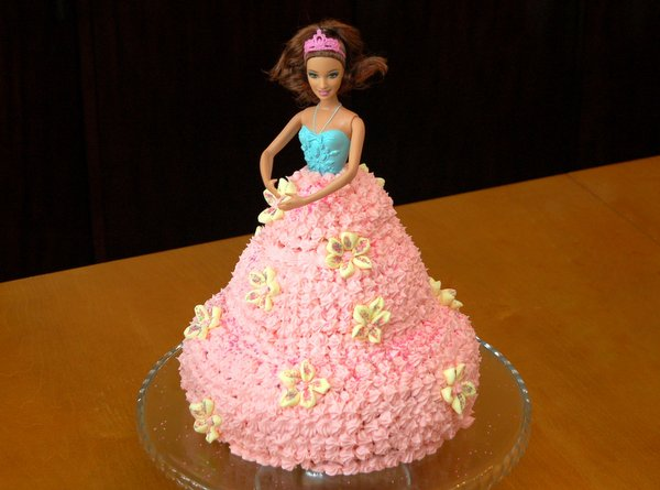 Easy Instructions for making a Barbie Doll Cake From Scratch aff6449355