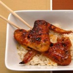 Orange and Ginger Caramelized Chicken Wings