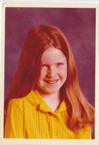 Jennie school photo, circa 1978