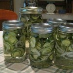 Snicker's Easy Sweet Refrigerator Pickles