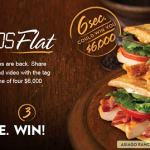 Enter Wendy's #6Seconds Flat Sweepstakes To Win $6,000!