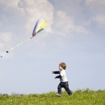 kid Kite flying