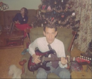 dad playing guitar