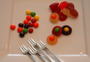 ingredients for make your own eyeball candies
